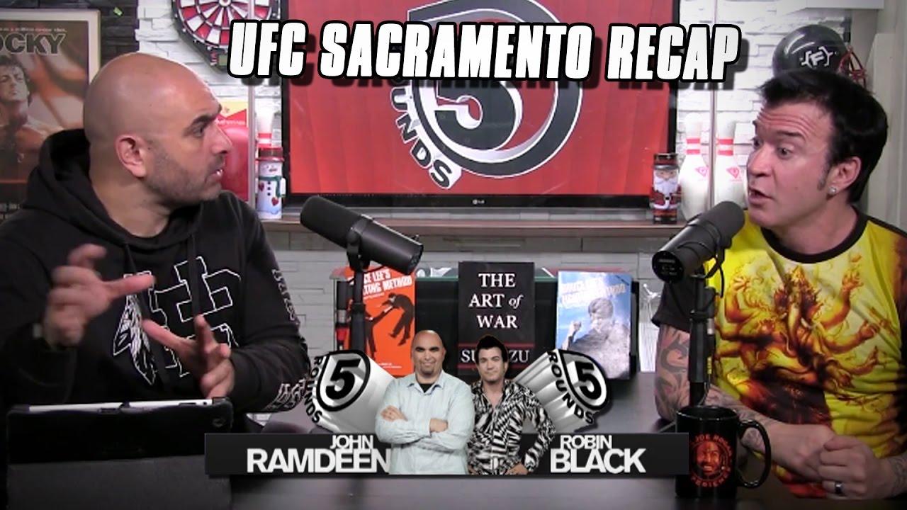 UFC Fight Night Sacramento Recap | 5 Rounds – Full Show