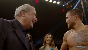 "Vasyl Lomachenko Interview with Melissa Stark – ""Boxing Fans Love Knockouts"""