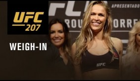 Watch LIVE Thurs. at 6:00 p.m. ET – UFC 207: Official Weigh-in