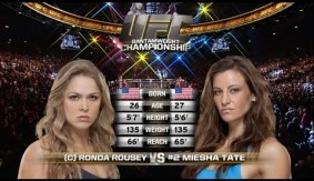 Watch Ronda Rousey Armbar Miesha Tate at UFC 168 from Dec. 28, 2013 – Full Fight