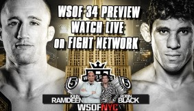 WSOF 34 Preview LIVE on Fight Network – If You're Drunk 'Don't Watch Justin Gaethje' | 5 Rounds