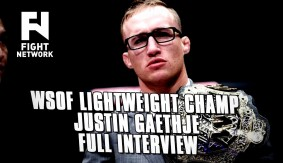 WSOF Lightweight Champion Justin Gaethje – Full Interview | 5 Rounds