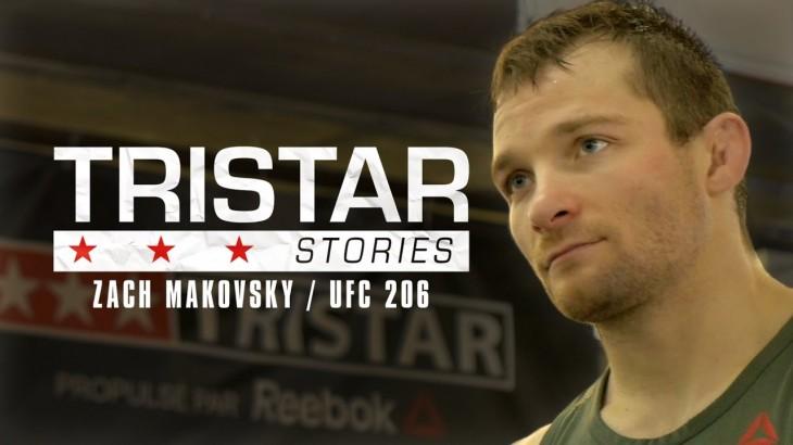 Zach Makovsky's Journey to UFC 206 | Preview Episode | Tristar Stories