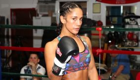 "Amanda Serrano Media Workout Quotes & Photos – ""This Is a Vintage Puerto Rican vs. Mexican Rivalry"""