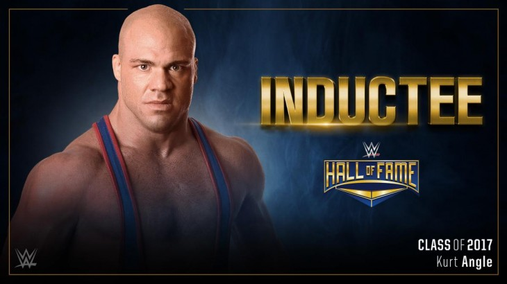 WWE Announces Kurt Angle for Hall of Fame