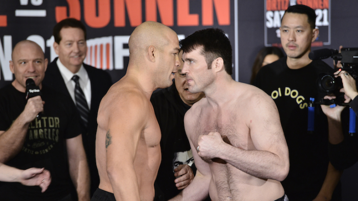 Bellator 170: Ortiz vs. Sonnen Weigh-in Results, Video Replay & Photos
