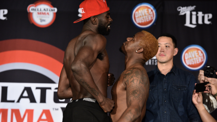 Bellator 171 Weigh-in Results, Video Replay & Photos