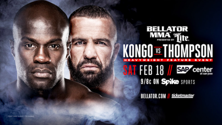 Cheick Kongo vs. Oli Thompson & Brent Primus vs. Adam Piccolotti Added to Bellator 172 on Feb. 18
