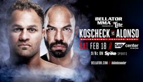 Josh Koscheck Makes Promotional Debut vs. Mauricio Alonso at Bellator 172 on Feb. 18