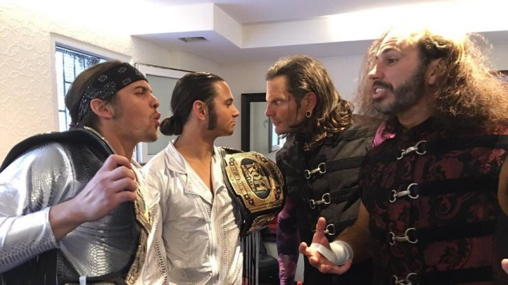 Young Bucks vs. Broken Hardys Announced for ROH SCOH