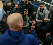 """Carl Frampton Media Workout Quotes & Photos – """"Leo's Going to Be In For a Tough Night Here"""""""