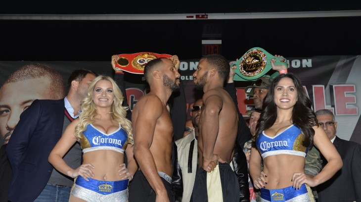 Badou Jack vs. James DeGale Weigh-in Results & Photos