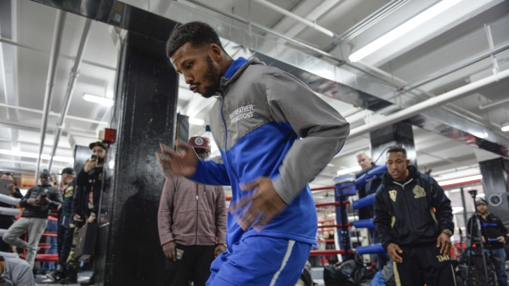 "Badou Jack vs. James DeGale Media Workout Quotes & Photos – ""I Wish That the Fight Was Tomorrow Night"""