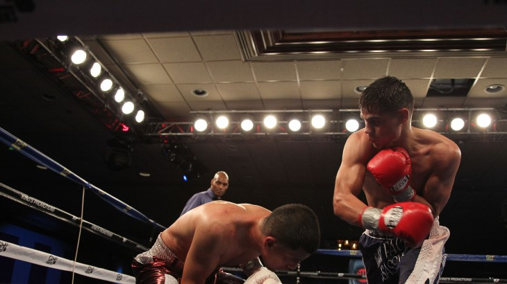 Danny Roman Stops Adam Lopez in WBA Super Bantamweight Title Eliminator