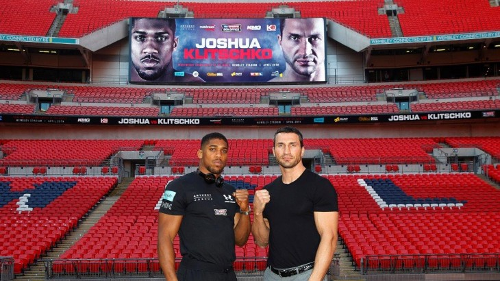 Anthony Joshua vs. Wladimir Klitschko Sells Over 80K Tickets; Wembley Stadium Pushing for 90K Capacity
