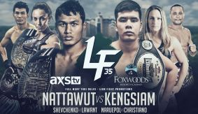 Jo Nattawut vs. Kengsiam Nor Sripueng Headlines Lion Fight 35 on March 3 LIVE on FN Canada & International
