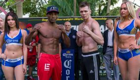 Erislandy Lara vs. Yuri Foreman Weigh-in Results & Photos