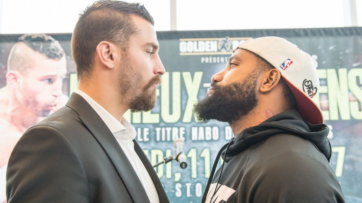 David Lemieux vs. Curtis Stevens Montreal Press Conference Quotes & Photos
