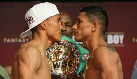 HBO Boxing After Dark: Vargas vs. Berchelt Weigh-in Results & Photos