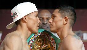 Francisco Vargas vs. Miguel Berchelt Weigh-in Results & Photos