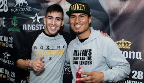 "Leo Santa Cruz, Dejan Zlaticanin & Mikey Garcia Media Workout Quotes & Photos – ""I Have the Loss in My Head"""
