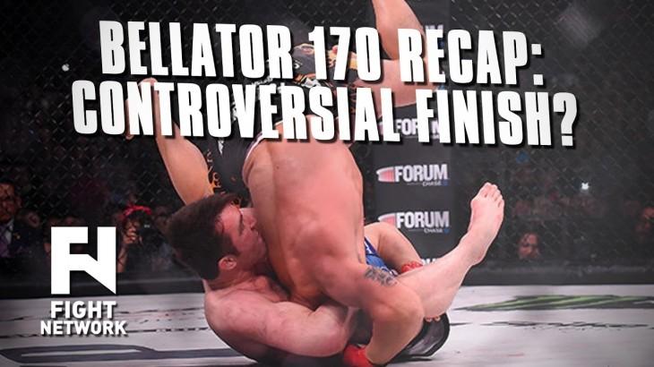 Bellator 170: Ortiz vs. Sonnen Recap – Controversial Finish