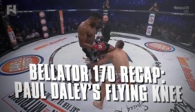 Bellator 170 Recap: Paul Daley's Flying Knee KO on Brennan Ward