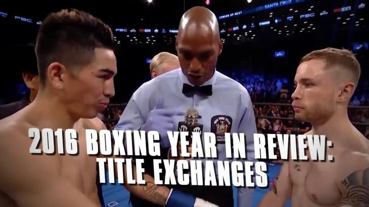 Boxing in 2016 Recap: Title Exchanges – Danny Garcia, Carl Frampton, Jermell Charlo