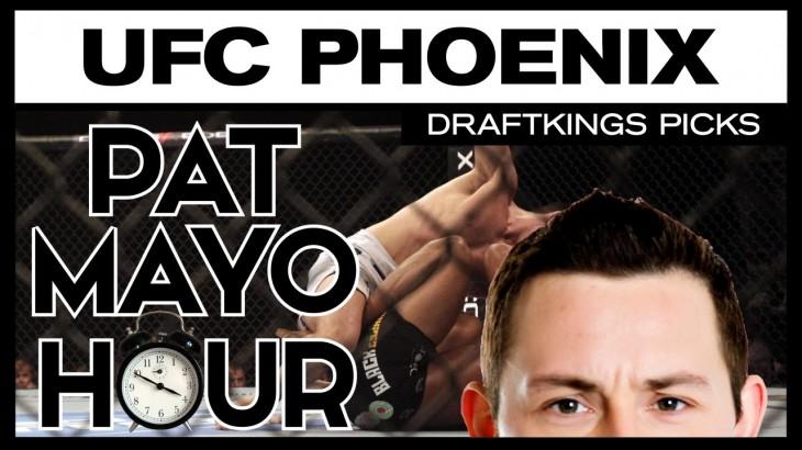 DFS MMA: UFC Fight Night Phoenix DraftKings Picks & Preview