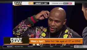 Floyd Mayweather on ESPN First Take with Max Kellerman and Stephen A. Smith – Full Interview