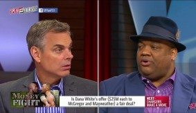 Floyd Mayweather vs. Conor McGregor with Colin Cowherd and Jason Whitlock