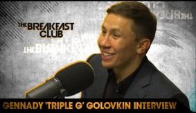 Gennady Golovkin Full Interview on The Breakfast Club