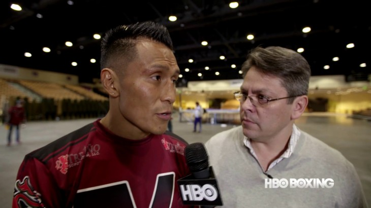 HBO Boxing After Dark: Francisco Vargas Pre-Fight Interview