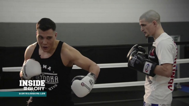 Inside the Ring with GLORY Featherweight Contender Matt Embree