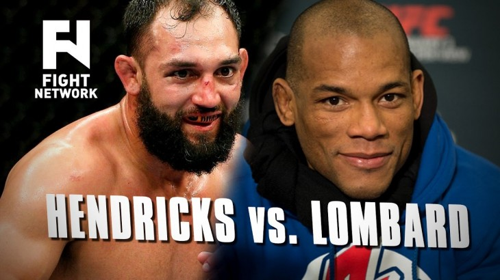 Johny Hendricks vs. Hector Lombard & Kelvin Gastelum vs. Vitor Belfort at Middleweight