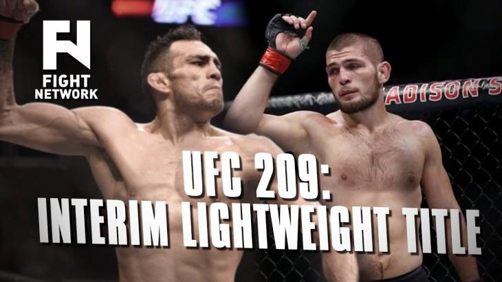 Khabib Nurmagomedov vs. Tony Ferguson for Interim Lightweight Title at UFC 209