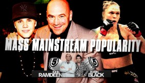 Mass Mainstream Popularity – Ronda Rousey & Justin Bieber | 5 Rounds