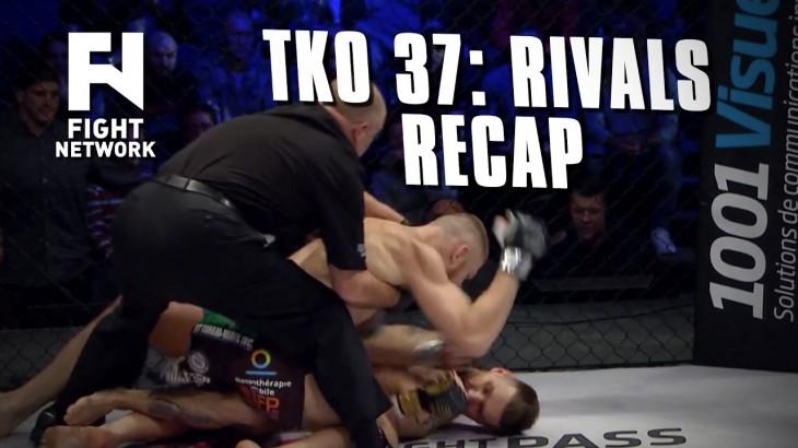 TKO 37 Recap: Strahinja Gavrilovic Disqualified, Tony & TJ Laramie Victorious