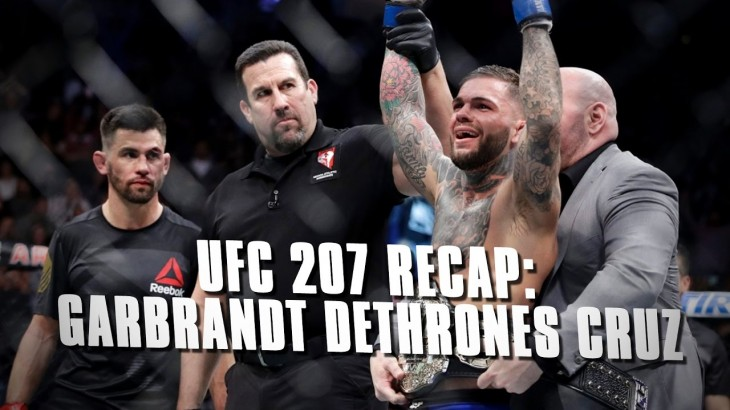 UFC 207 Recap: Cody Garbrandt Shocks Dominick Cruz to Claim Bantamweight Title