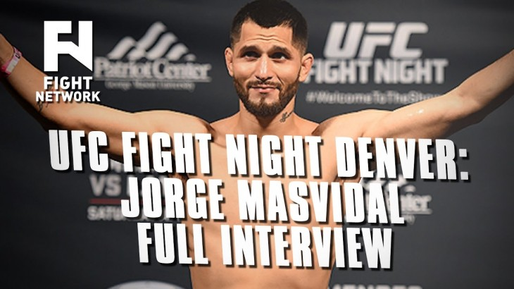 UFC Fight Night Denver: Jorge Masvidal: Product of My Environment – Full Interview