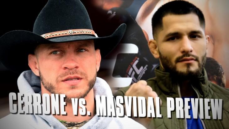 UFC Fight Night Denver Preview: Donald Cerrone vs. Jorge Masvidal