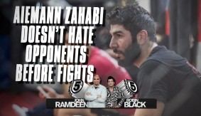 UFC Fight Night Halifax: Aiemann Zahabi Does Not Hate His Opponents Going into Fights