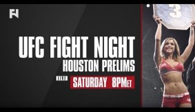 UFC Fight Night Houston Prelims – Watch LIVE Sat. Feb. 4, 2017 at 8 p.m. ET in Canada on Fight Network