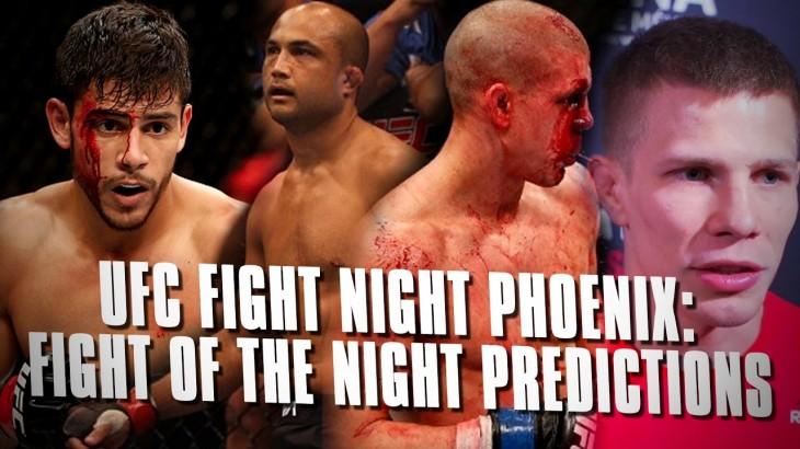 UFC Fight Night Phoenix: Fight of the Night Predictions