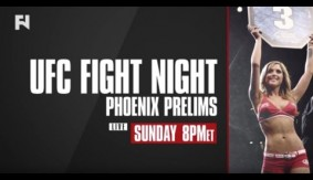 UFC Fight Night Phoenix Prelims – Watch LIVE Sun. Jan. 15, 2017 at 8 p.m. ET in Canada on Fight Network