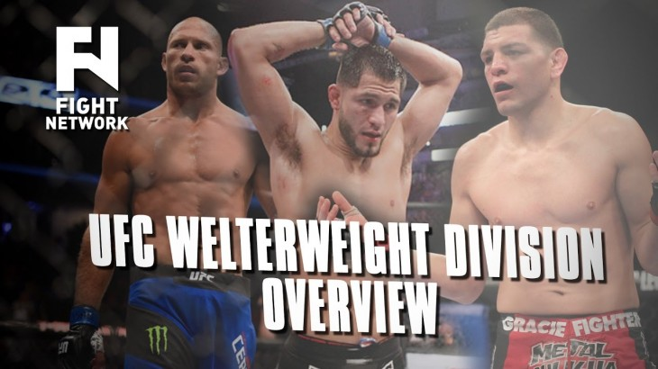 UFC's Welterweight Division Overview: Cerrone vs. Masvidal, Nick Diaz & More
