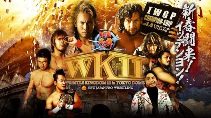 NJPW Wrestle Kingdom 11 Report – Kazuchika Okada vs. Kenny Omega