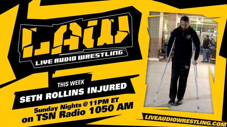 Feb. 5 Edition of The LAW – Seth Rollins Injured, New Beginning Review