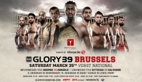 GLORY 39 Brussels & SuperFight Series Announced for March 25