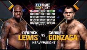 Derrick Lewis vs. Gabriel Gonzaga from UFC Fight Night Zagreb – Full Fight